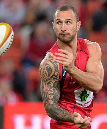TARGET: Quade Cooper will be a target for his past deeds as well as his playing ability.
