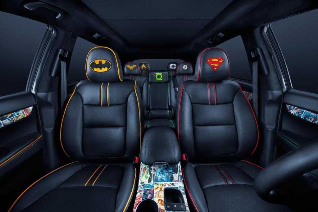 Ths seven-seat Sorento marks the final chapter in a 10-month, eight-vehicle partnership between DC Entertainment and Kia based on the iconic characters that make up the Justice League – Superman, Batman, Wonder Woman, Green Lantern, The Flash, Aquaman and Cyborg.