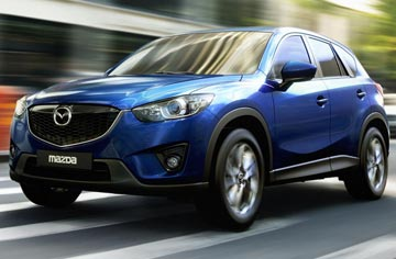 TOP SUV: Mazda CX-5 in Women's Car of the Year awards.