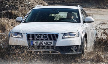TOP FAMILY CAR: Audi allroad in the Women's Car of the Year awards.