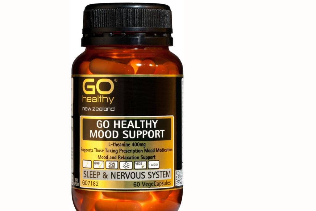 GO Healthy NZ introduces GO Healthy's 'Mood Support' - an easy to take one-a-day supplement that supports a positive outlook without drowsiness. They contain L-Theanine which is known to support a balanced mood, mental focus, and help reduce stress, encourage healthy production of  dopamine and serotonin, and support healthy alpha wave activity in the brain, for mental clarity and focus a sense of wellbeing. From $29.90 for 30 VegeCaps.