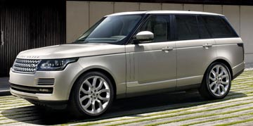 TOP LUXURY CAR: Range Rover in the Women's Car of the Year awards.