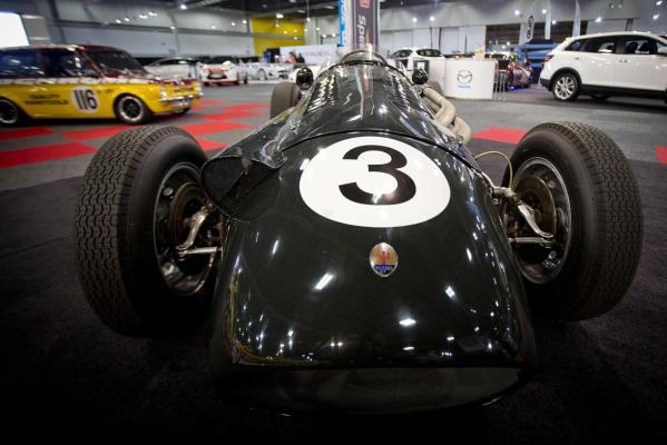 A 1950's Maserati 250F driven by Chris Amon is all set for display at the 2013 CRC Speedshow in Auckland.