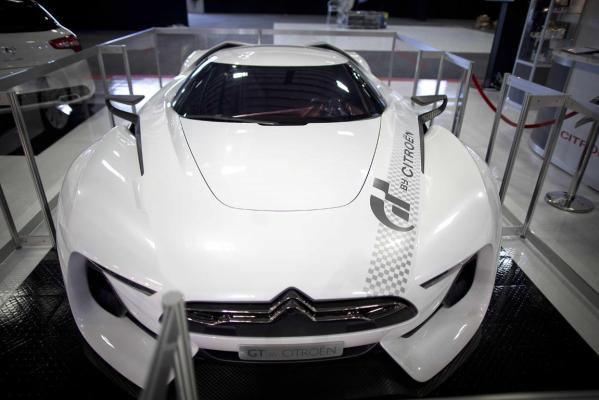 The GTbyCitroen supercar at the 2013 CRC Speedshow in Auckland.