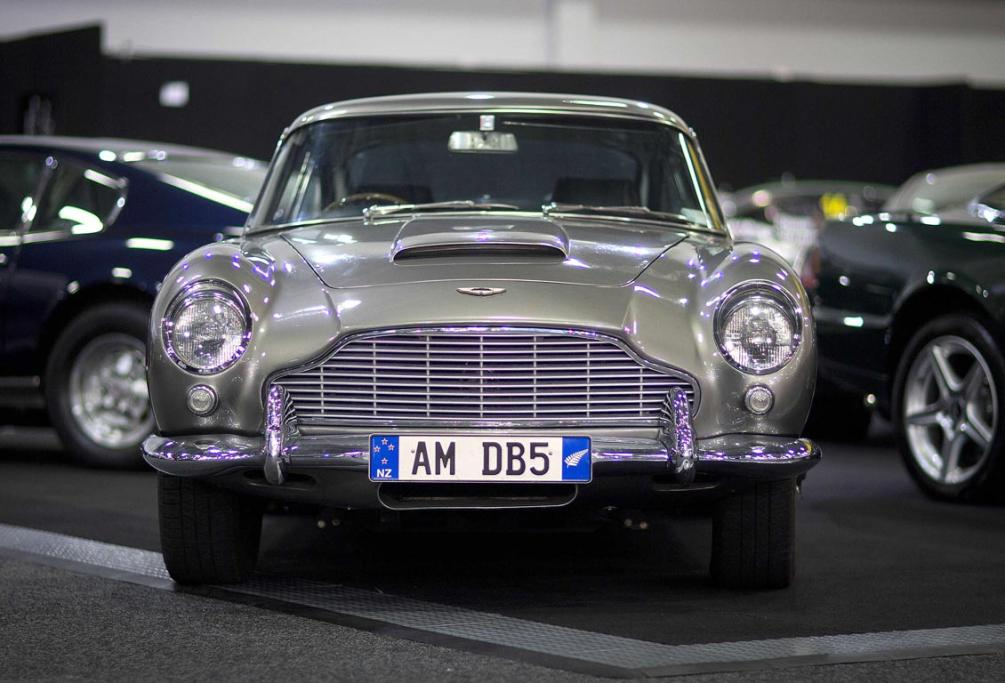 A rare Aston Martin DB5 is all set for the 2013 CRC Speedshow in Auckland.