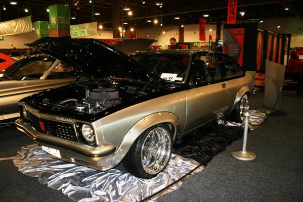 A 1977 Holden Torana all set for the Custom and Classic Show at the 2013 CRC Speedshow in Auckland.