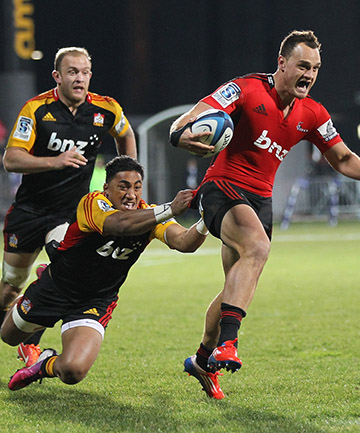 REMATCH: The Crusaders torched the Chiefs in Christchurch a few weeks ago, but the Chiefs have had the better of them in Hamilton.
