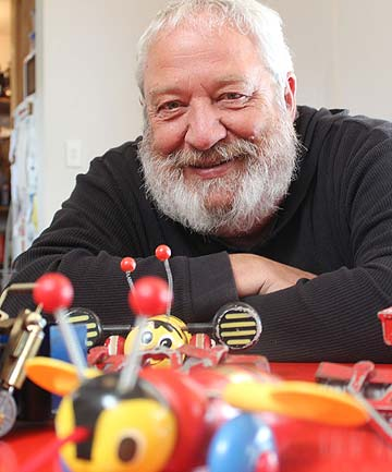 TOY STORIES: Historian and author Dave Veart is seeking help to tell the history of toys in New Zealand.