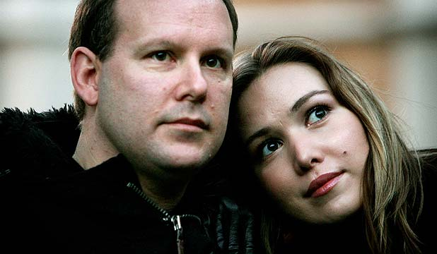Yulia and husband/manager Glyn MacLean