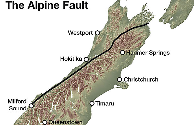 "ALPINE FAULT: ""An earthquake on the Alpine Fault in the near future would not be a big surprise."""