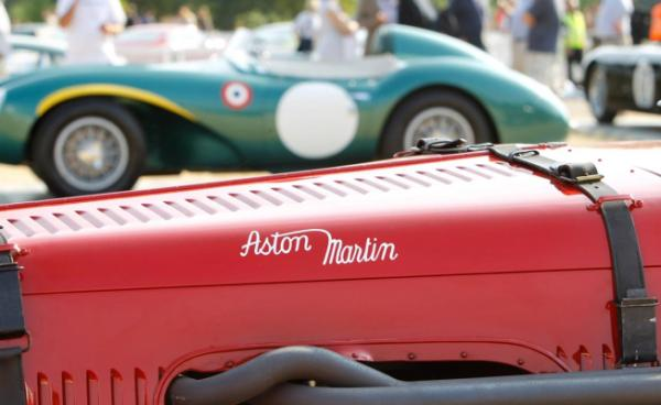 Aston Martin Centenary celebrations in London.