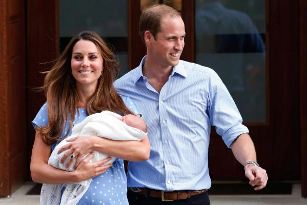 Royal baby revealed to world