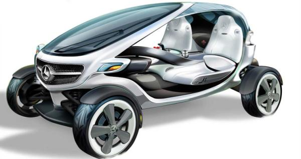 The Mercedes-Benz Vision Golf Car.