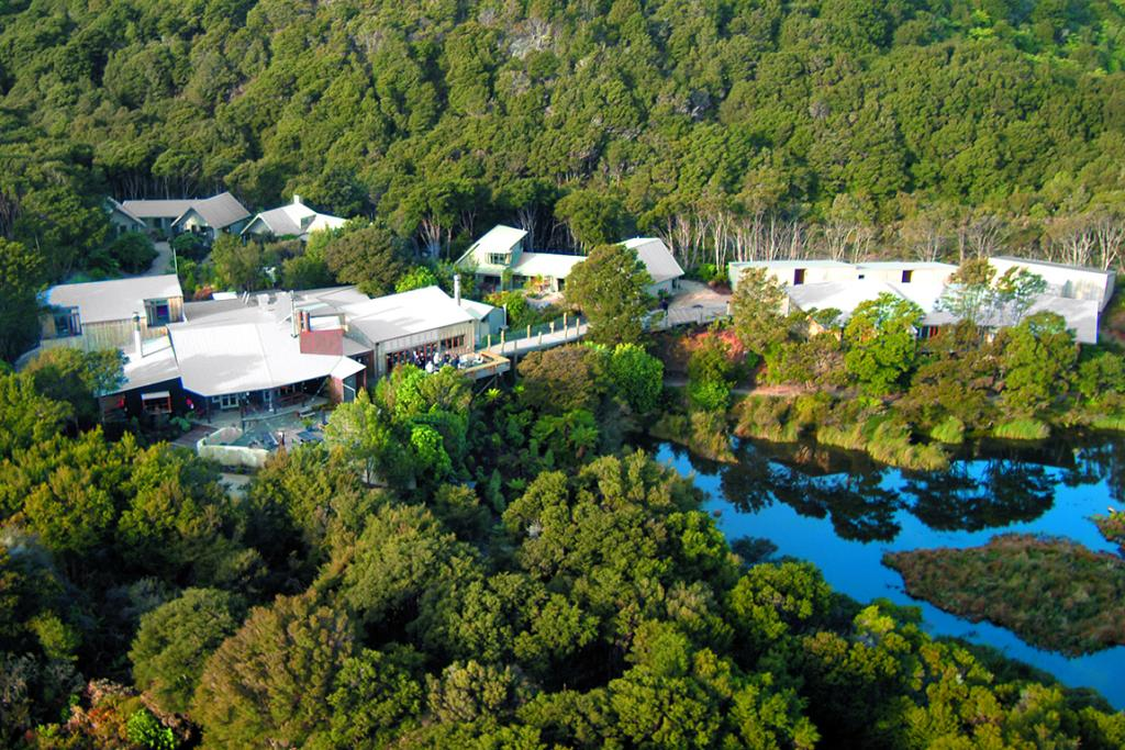 BIG SPACE: The lodge is on the largest freehold block in the Abel Tasman National Park.