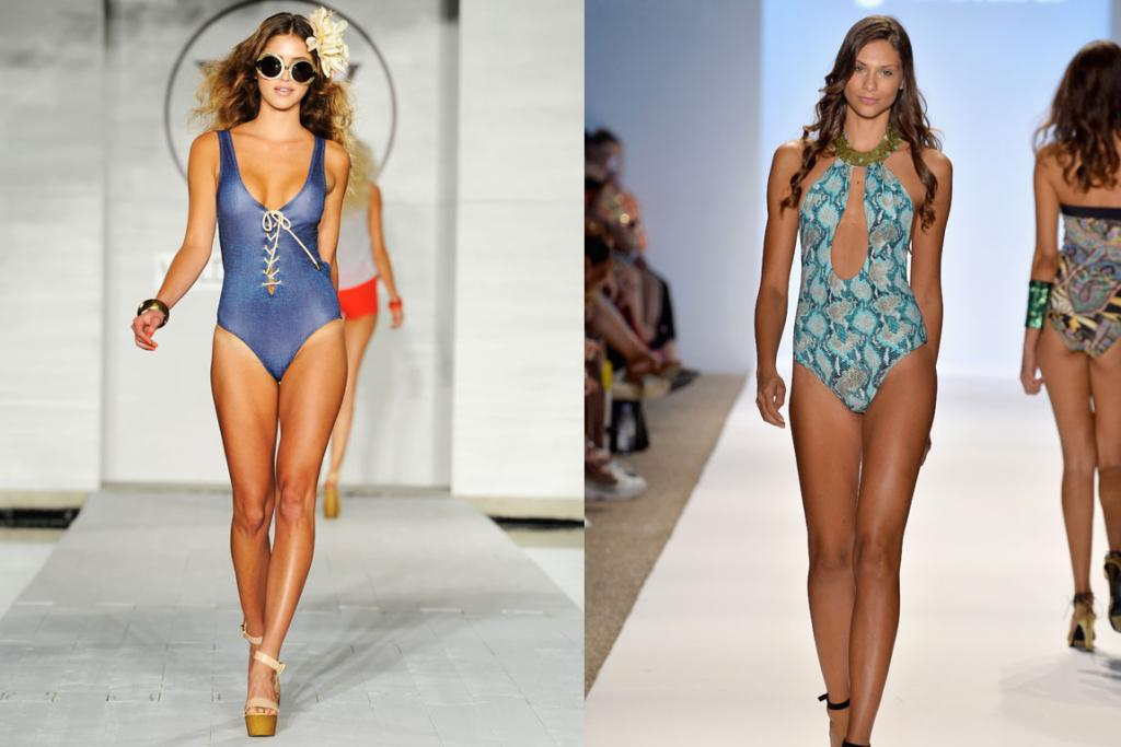 Swimwear fashion week