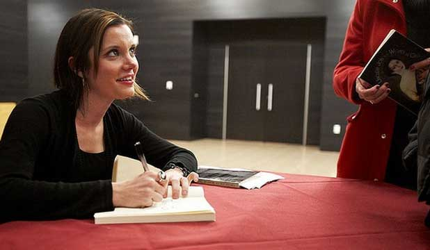 CONTROVERSIAL: Author Alissa Nutting attends a book signing in the US.