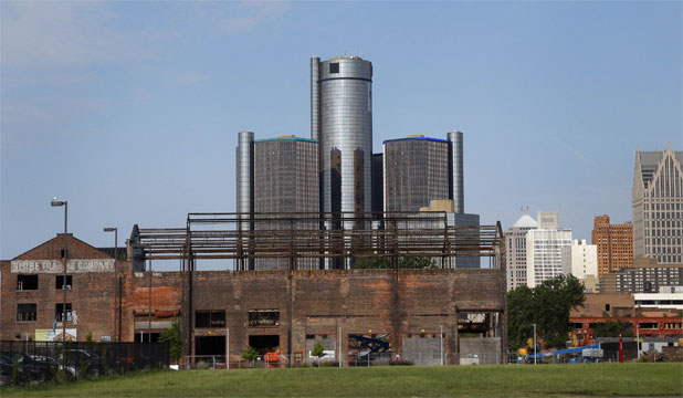 Detroit General Motors building