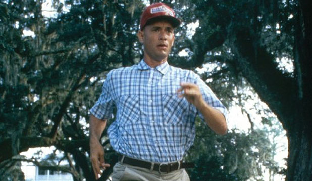 "RUN, FORREST: ""From that day on, if I was going somewhere, I was running!"""