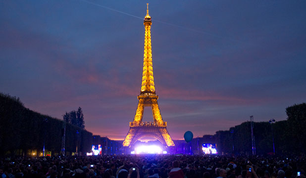 EIFFEL TOWER: France casually rides a reputation for stunning monuments.