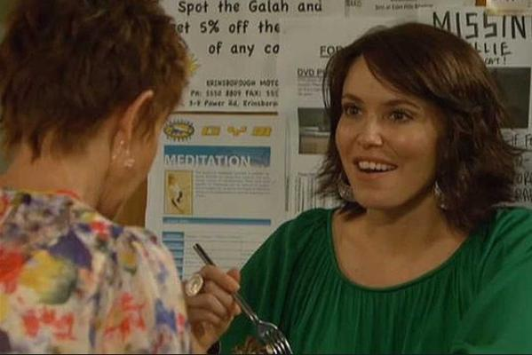 Kym Valentine as Libby Kennedy on Neighbours
