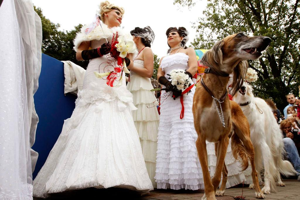 Thirty-six women from all regions of Belarus took part in the event showcasing different wedding gowns in Minsk.