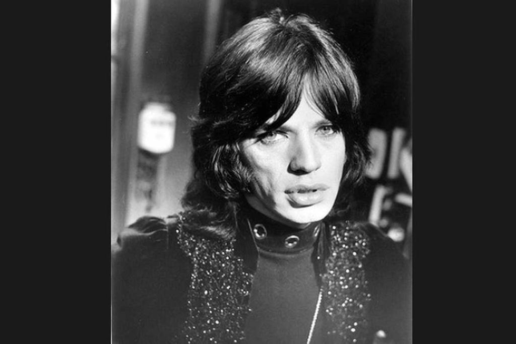 Mick Jagger in the film Performance.