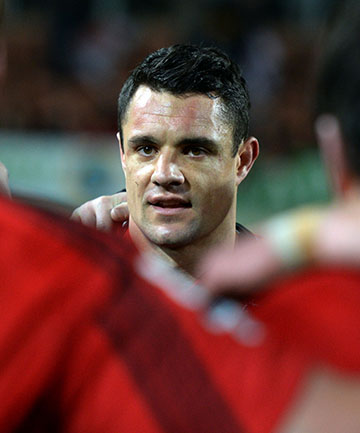 SO CLOSE: Dan Carter reacts after the Crusaders' semi-final loss to the Chiefs.