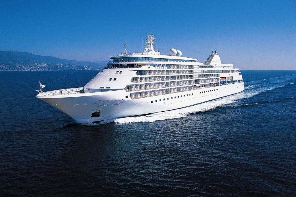 Silversea's the Silver Shadow, a six-star cruise ship.