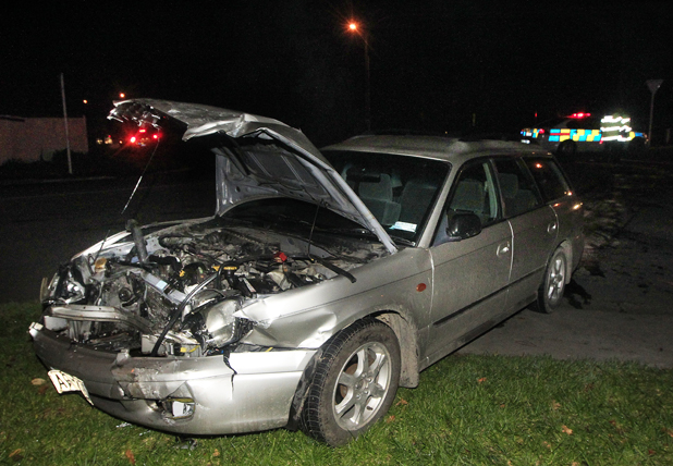Change needed? Last night's crash was the third in two weeks at the intersection of Weld St and Muller Rd, in Blenheim.
