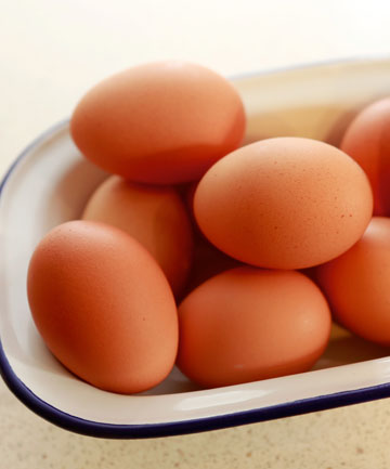 GOOD EGG: Eggs are a natural source of at least 11 vitamins and minerals and are a high-quality protein.