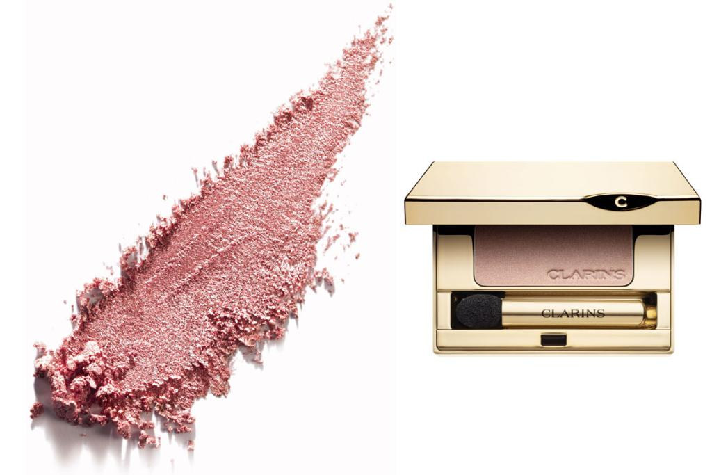 PRETTY PINKS: L'Oréal Paris Color Infallible 24HR Eyeshadow in Forever Pink, $21.99 and Clarins Ombre Mineral Eye Colour in Tea Rose, $44.