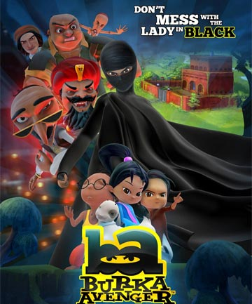 CRIME FIGHTER: The Burka Avenger.
