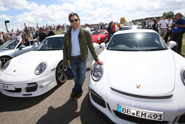 World record gathering of Porsche 911s.