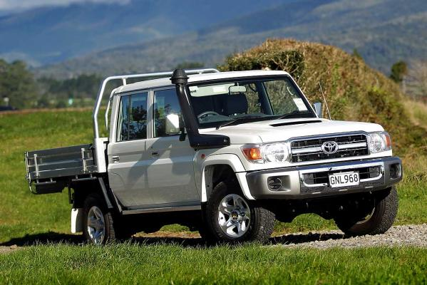 Toyota's go anywhere ute is old school cool   Stuff.co.nz