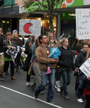 Protests against Monsanto and genetic engineering