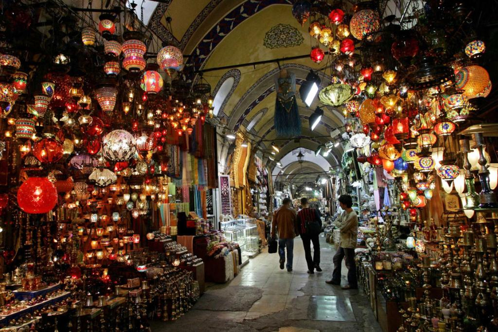 Istanbul, Turkey: Known for its spectacular mosques, ancient monuments, and opulent palaces.