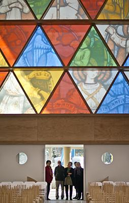 Cardboard cathedral