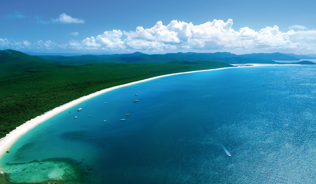 WHITEHAVEN BEACH: Considered the jewel in the crown of the Whitsundays and regularly tops lists of the world's best beaches.