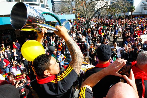 Chiefs' victory parade