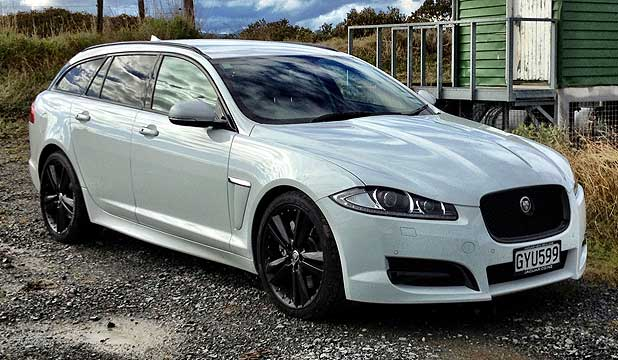 JAGUAR XF SPORTBRAKE: The Companyu0027s Mid Sized Executive Sedan Lends Itself  Exceptionally Well To