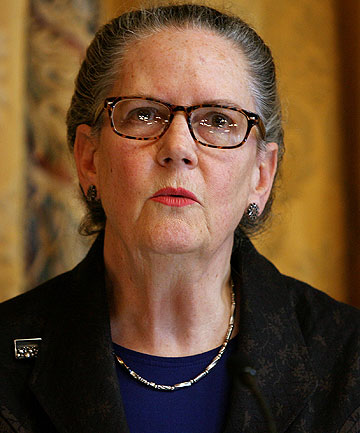 PRIVATE EYES: New Zealand Privacy Commissioner Marie Shroff.