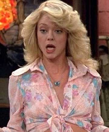 BETTER TIMES: Lisa Robin Kelly as Laurie Forman in That '70s Show.