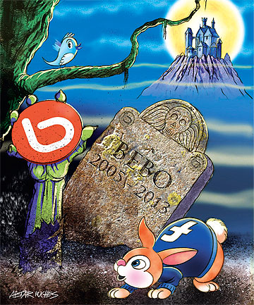 IT LIVES: Bebo was once the social network of choice for young Kiwis, then lost its mojo.