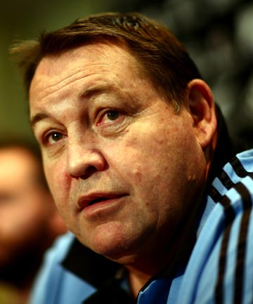 INJURY WORRIES: Steve Hansen has called four players into his squad.