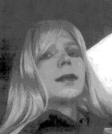 DOUBLE LIFE: A 2010 photo of Bradley Manning as Chelsea Manning.