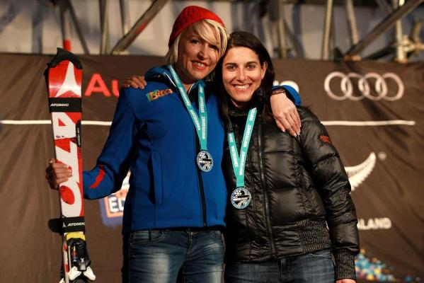 Heather Mills and Melanie Schwartz