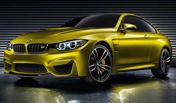 BMW M4 COUPE: Replaces the long-standing M3 in this two-door guise, but that doesn't spell the end of the M3 per se.