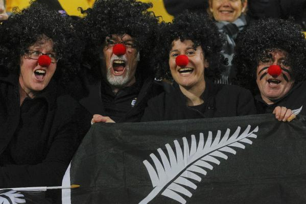 All Blacks in Wellington, fanzone and buildup