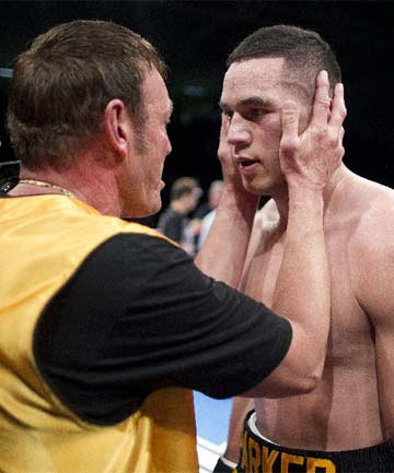 """JOSEPH PARKER: """"It's always been a goal. In my first year as a pro it's great to get the opportunity to fight for the title."""""""