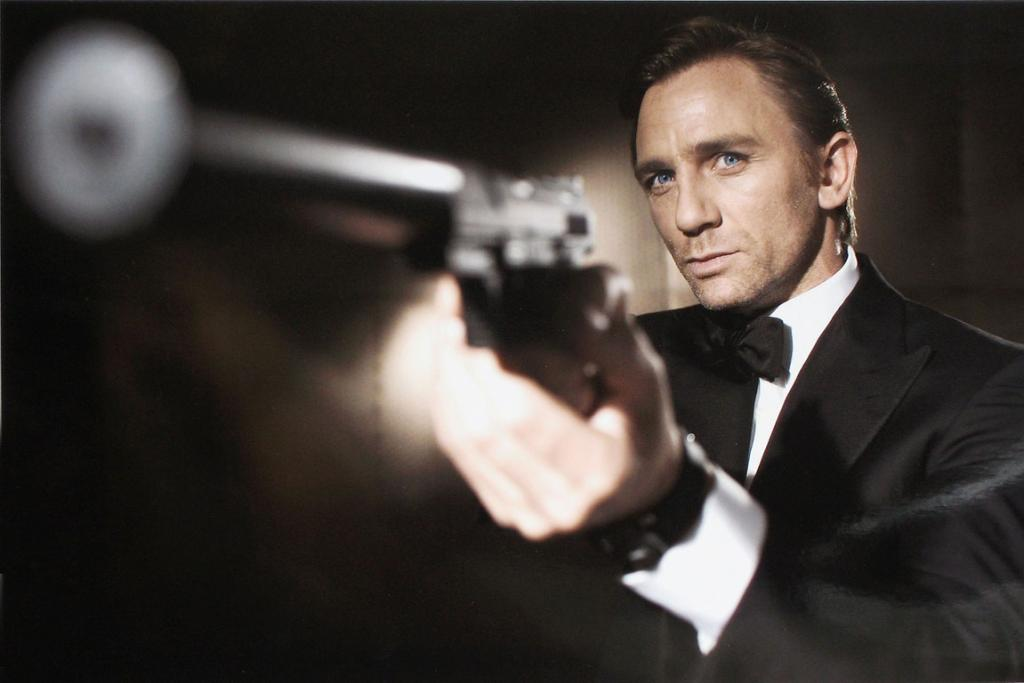 No 8: Brooding 007 star Daniel Craig stole 20 per cent of the votes.